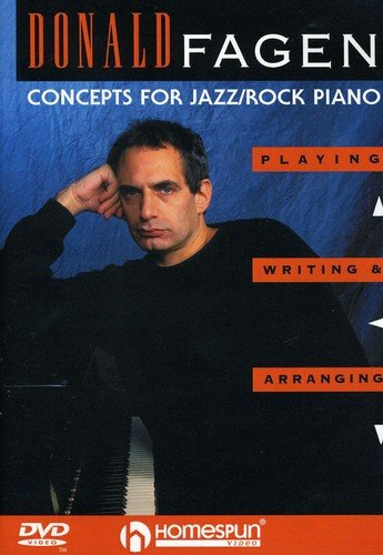 Donald Fagen - Concepts for Jazz/Rock Piano DVD by Homespun Tapes