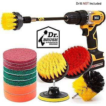 Amazon Com Holikme 4 Pack Drill Brush Power Scrubber