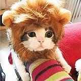 Lion Mane Costume for Cat– Lion Mane Wig for Cats – Lion Mane for Cat Costume– Pet Wig for Cats