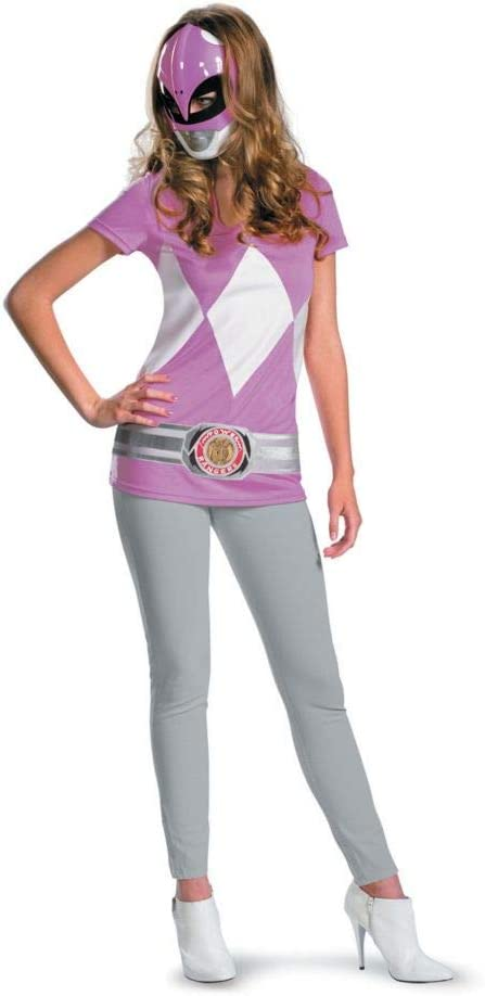 Generique - Disfraz de Power Rangers Rosa para Mujer: Amazon.es ...