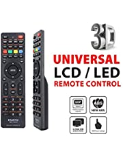 Tersely Universal LCD/LED/3D Replacement TV Remote, for LCD/LED TV HDTV Remote Controller Samsung/Panasonic/TCL/SANYO, Panasonic, Philips, Prima, Toshiba, Thomson, TCL, etc