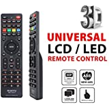 Tersely Universal LCD/LED/3D TV Remote, for LCD/LED TV HDTV Remote Controller Samsung/Panasonic/TCL/SANYO, Panasonic, Philips, Prima, Toshiba, Thomson, TCL, etc