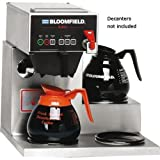 Bloomfield 1072D3F E.B.C Coffee Brewer, Automatic, Three Warmer, 17'' Depth, 16 1/4'' Width, 16 7/8'' Height