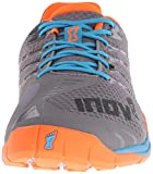 Inov-8 Men's F-lite 235 Performance Training Shoe, Grey/Blue/Orange, 8 D US