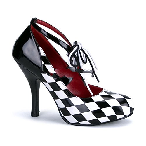Funtasma HARLEQUIN-03 - zapatos carnaval traje Halloween, US-Damen:EU-40/41 / US-10 / UK-7