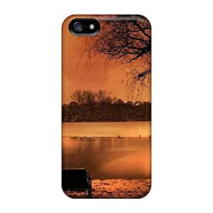 Durable Haunting Winter Scene Back Case/cover Case For Sam Sung Galaxy S5 Mini Cover