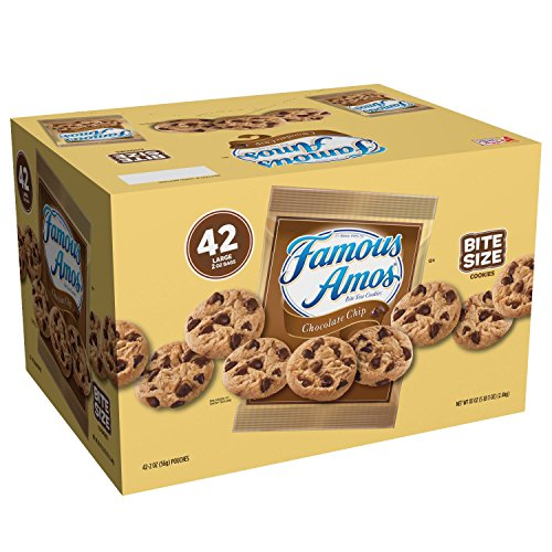 Famous Amos Chocolate Chip Cookies 42 ct