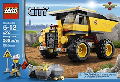Lego City 4202 Mining Truck from LEGO