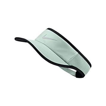 NIKE Women`s NikeCourt Aerobill Adjustable Tennis Visor (Barely  Grey(899654-006 ba809ed07f2