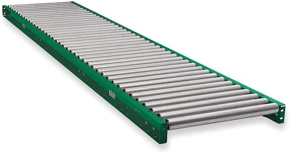 Ashland Conveyor 10F10KG45B22 Roller Conveyor 10 ft L 22BF