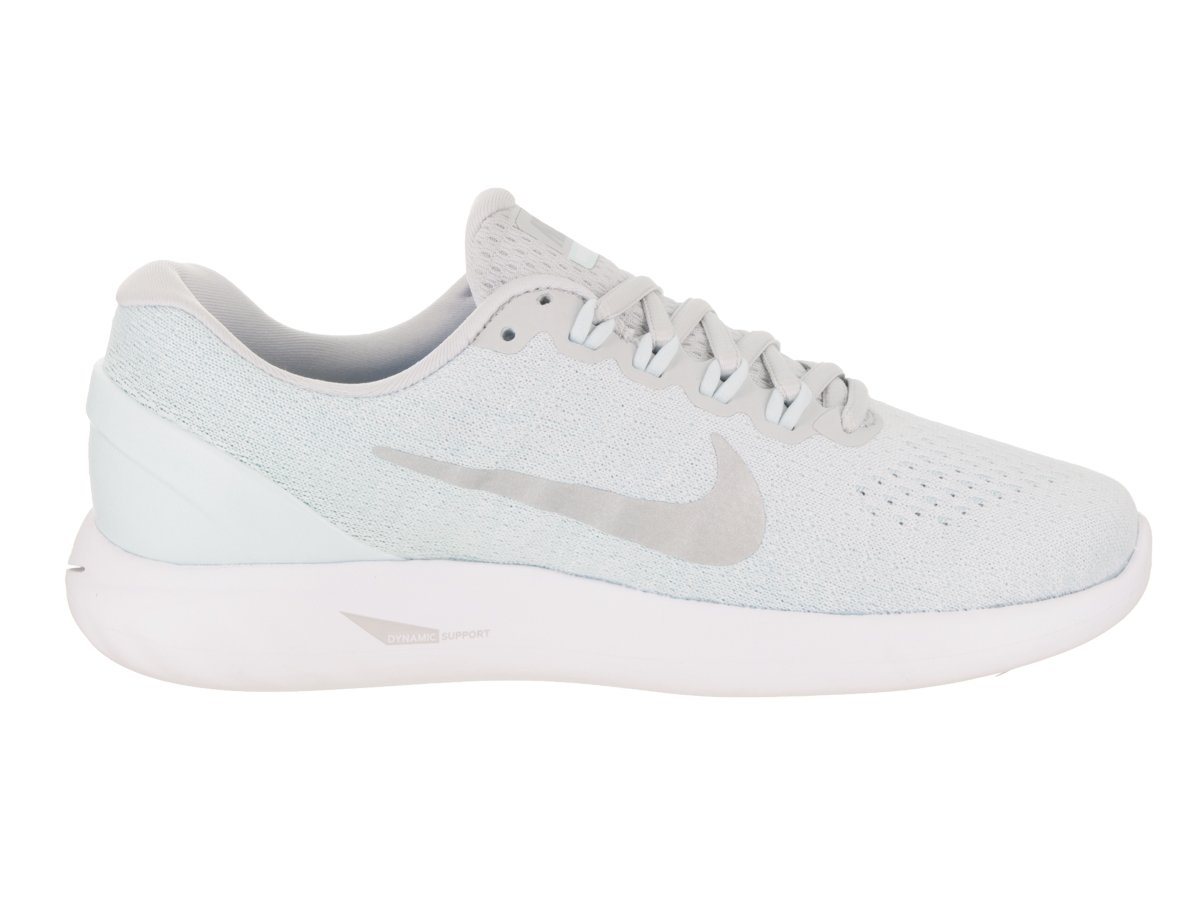 NIKE Women's Lunarglide 9 Running Shoe B06WVC5TJ7 10.5 B(M) US Pure Platinum/Chrome
