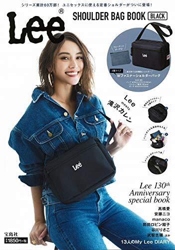 Lee SHOULDER BAG BOOK BLACK 画像 A