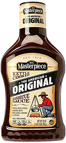 (KC Masterpiece Original BBQ Sauce 28oz (2 pack) )