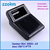 Gimax 4 pcs/lot abs project box housing plastic box for electronic project plastic box junction box 156X114X79 mm