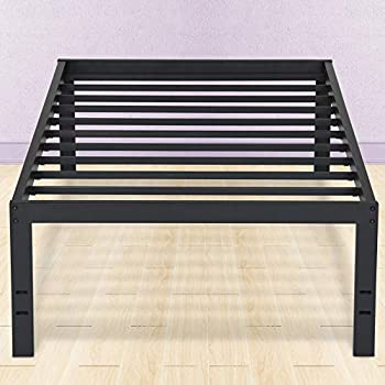 Amazon Com Primasleep 18 Inch Tall Metal Bed Frame Dura