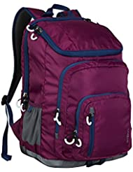 Jartop Elite Backpack with Cushioned Laptop Sleeve Purple