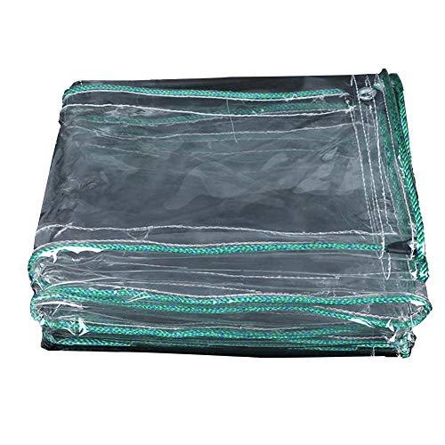 相反する手順チャペルJIANFEI オーニング 防水耐寒性絶縁シェーディング厚い、PVC 12サイズカスタマイズ可能 (色 : クリア, サイズ さいず : 0.9x2.9m)