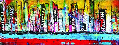 Empire Art Direct - abstract city escape modern wall art