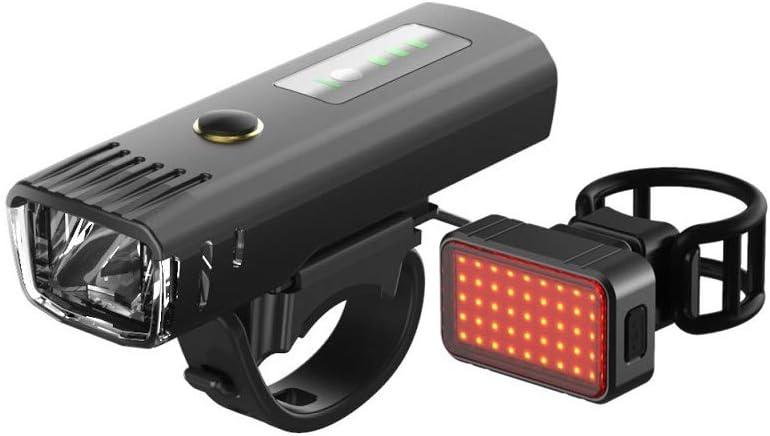 SICOFD Beleuchtungsset Bodenleuchte 360/° Rampenlicht 250 Lumen LED Beleuchtung Taschenlampe Frontlicht//R/ücklicht IPX4 Wasserdicht 1500mAh f/ür Fahrrad Camping Wandern