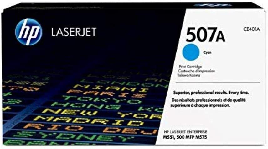 HP 507A | CE401A | Toner Cartridge | Cyan