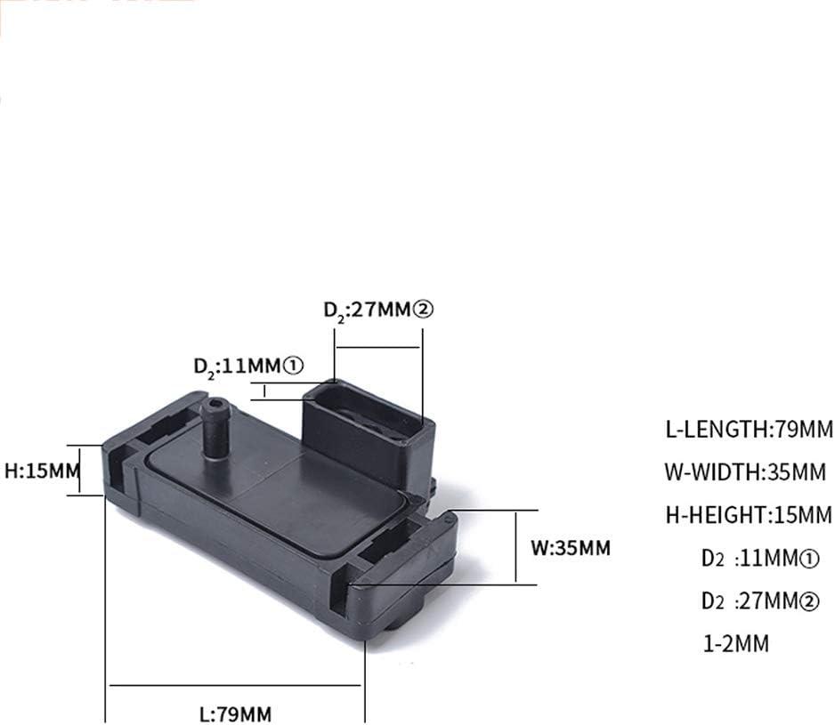 DishyKooker Manifold sensore di Pressione OE 12569240 Adatto per Buick Chevrolet Sostituzione