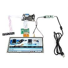 "SainSmart HDMI/VGA Digital 9"" 9 Inch Touch Screen LCD+Driver Board for Raspberry Pi 3 Model B Pi 2"