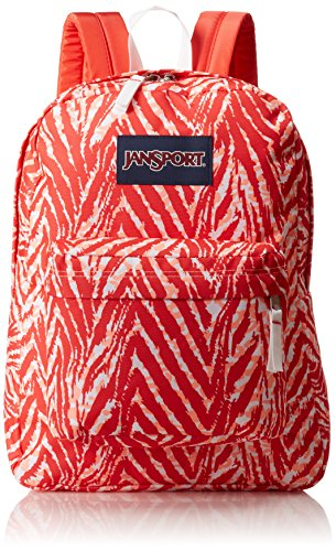 JanSport Unisex SuperBreak Coral Peaches Wild At Heart One Size -
