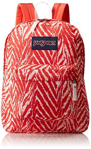JanSport Unisex SuperBreak Coral Peaches Wild At Heart