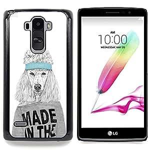 - Funny Made In The USA Dog/ Duro Snap en el tel????fono celular de la cubierta - Cao - For LG G Stylo / LG LS770 / LG G4 Stylus