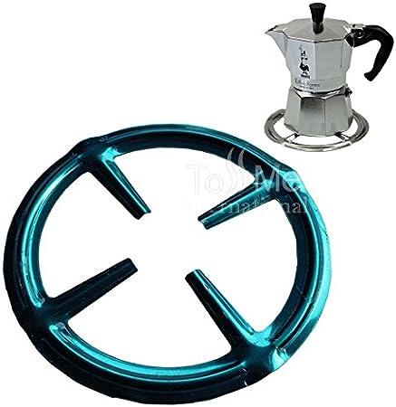 Acero inoxidable Anillo de gas Reductor Trivet Placa de la estufa Cocinero Cocinero Calentar Simmer Coffee Pots Cafetiere Espresso Makers Cacerolas Utensilios de cocina: Amazon.es: Hogar