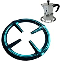 Tossme Stainless Steel Gas Ring Reducer Trivet Stove Top Hob Cooker Heat Simmer Coffee Pots Cafetiere Espresso Makers Pans Kitchen Utensil