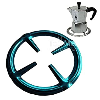 Stainless Steel Gas Ring Reducer Trivets Stove Top Hob Cooker Heat Simmer Coffee Pots Cafetiere Espresso Makers Pans Kitchen Utensil