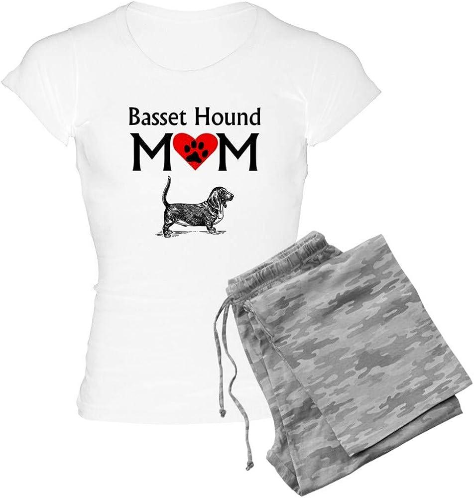 CafePress Basset Hound Mom Pajamas Womens PJs
