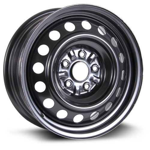 - Steel Rim 16X6.5, 5X114.3, 60.1, +40, black finish (MULTI APPLICATION FITMENT) X99143N