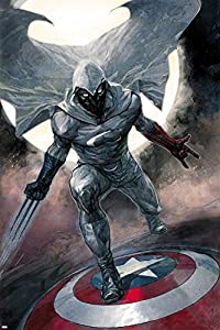 Amazon.com: Moon Knight No.1 Cover: Moon Knight Poster by Alex ...