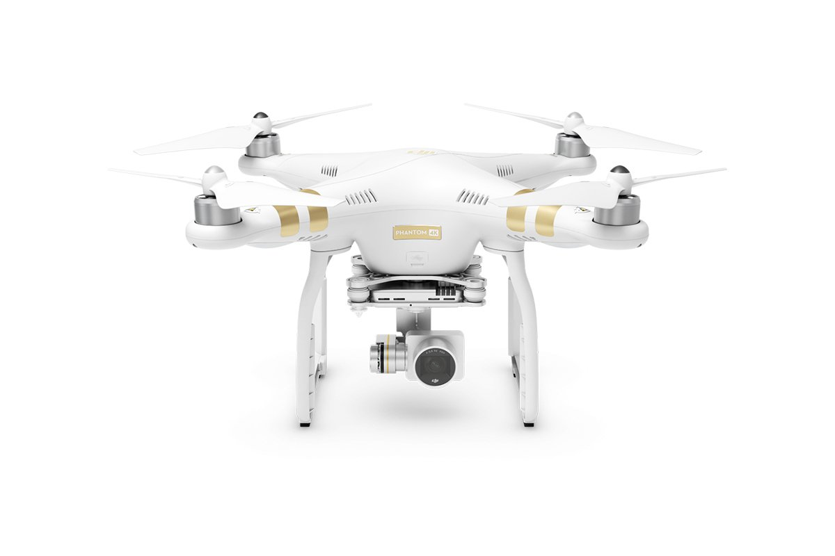 DJI Phantom 3 4K - drones con cámara (Color blanco, Polímero de ...