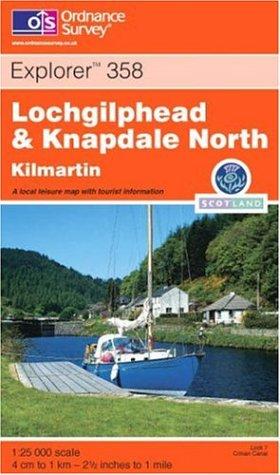 Lochgilphead and Knapdale North: Kilmartin (Explorer S.) ebook