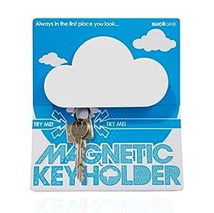 SUCK UK Magnetic Key Holder Shaped Like a Cloud
