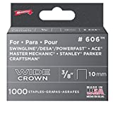 Arrow Fastener 606 6 Pack 3/8in. Wide Crown Heavy Duty Staple 6,000 Pieces Size: 6-Pack, Model: 606, Tools & Outdoor Store