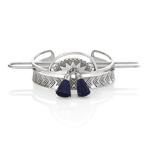 06df5cc205 Jen Atkin X Chloe + Isabel Sunburst Tassel Bun Cuff: Amazon.ca: Jewelry