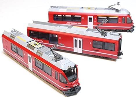RhB - 3 Cars Set Allegra N Kato 10-1273 Swiss Rhaetian Railway ABe 8//12