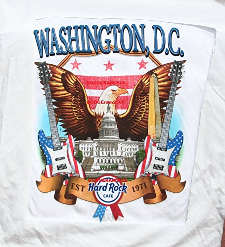 Hard Rock Cafe Washington DC ~ City T-shirt XXL 2xl Men's NWT Just Released for '17