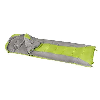 Aktive - Saco de dormir momia, 210x75 cm, 300 GSM, 0/15º
