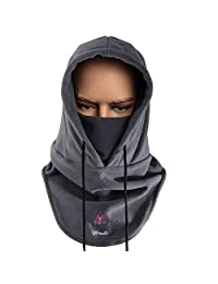 UPmall® Tactical Balaclava Windproof Hat Ski Face Mask Fleece Hood Sports Mask