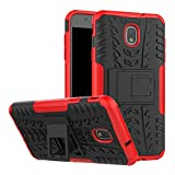 Galaxy J7 Refine Case, J7 V 2018, Galaxy J7 Top, J7 Crown, J7 Aero, J7 Aura, J7 Eon, J7 Star, Heavy Duty Rugged Armor...