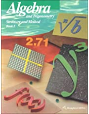 Algebra and Trigonometry: Structure and Method Book 2