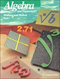 Algebra and Trigonometry: Structure and Method, Richard G. Brown, 0395585368