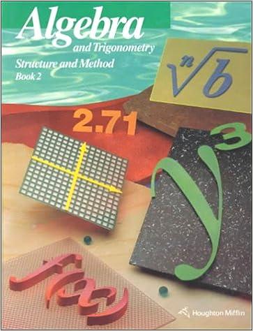 Algebra And Trigonometry Structure And Method Book 2 Brown Richard G 9780395585368 Amazon Com Books