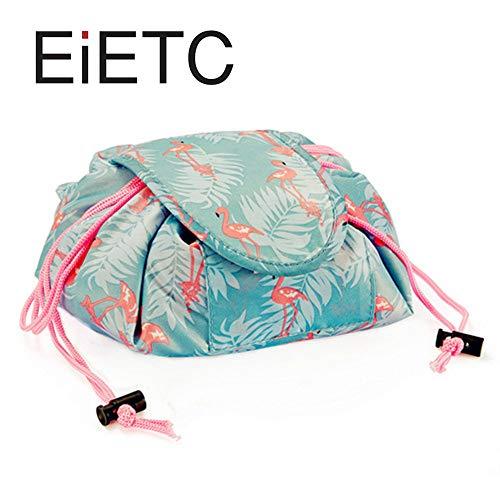 Creative Drawstring Lazy Makeup Storage Bag Portable Waterproof Exquisite Fashion Ladies Cosmetic Bag ()