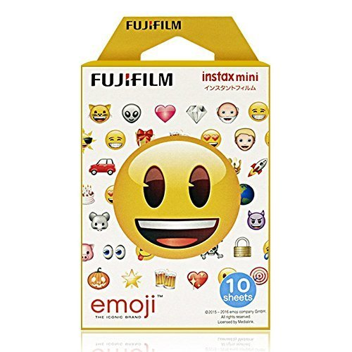 Fujifilm Instax Mini Instant Film (10 sheets, Emoji)